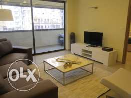 MK788 Beautiful Furnished Flat for rent in Ain Mreisseh, 80sqm 3rd Fl