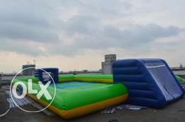 Soap Soccer Inflatable Gonflable Game ألعاب نفخ