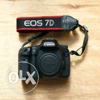 Canon 7D in mint condition