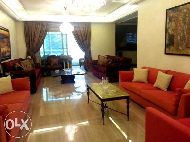 250sqm Furnished Apartment for rent in Jnah 1st floor 2,090$ per month