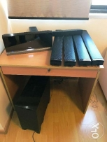 ٍ SONY DVD and CD player + Subwoofer box + 5 speakers