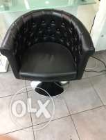 hair dresser chair x6