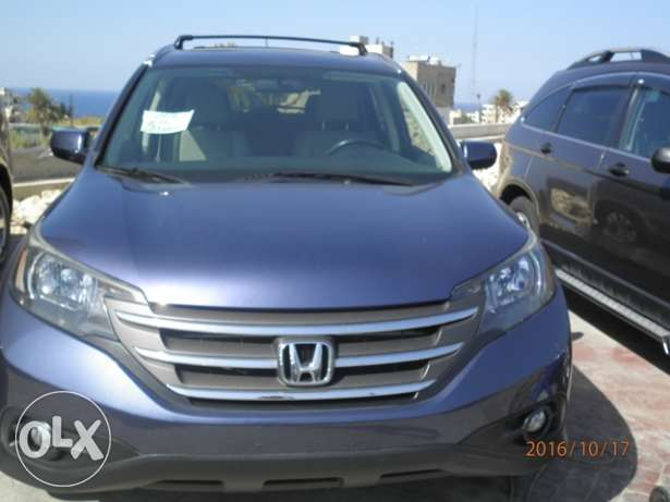 Honda CRV EXL 2012 dark blue clean كسروان -  2