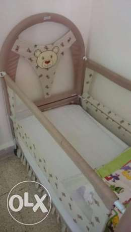 Baby Bed With Mettres