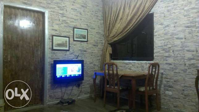 Ainlmrysi , One bedroom, one Salon , kitchin , bathroom , Balkon,Wifi ميناء الحصن -  3