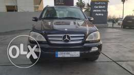 Mercedes ML350/2005 From Gharghoun Not so much used one owner full opt