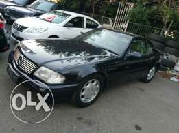 Mercedes SL500 model 1991 as new