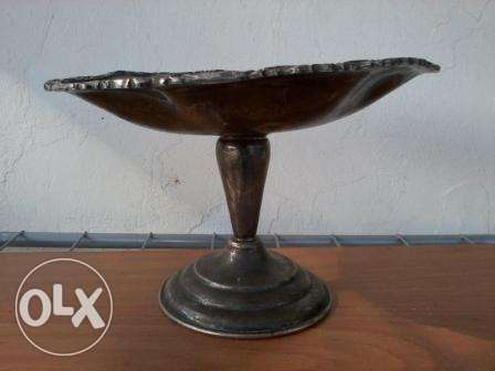 Antique copper plate, silver plated 801, 17$