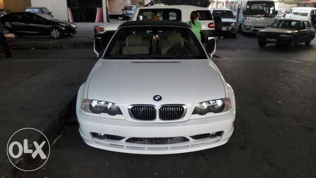 BMW 325CI Convertible model 2003 very clean