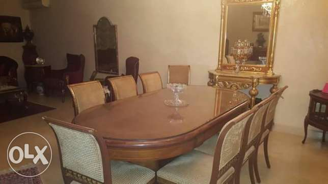 Tawlet sofra for sale chairs na2shet Versace 2000$