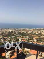 Furnished lof for rent with a amaising sea and mountain vue