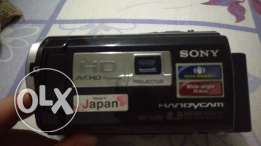 Camera Sony HDR-260E full hd with projector
