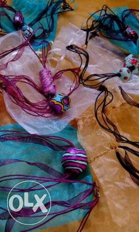 Hand made necklace for girls
