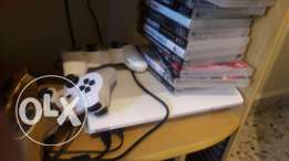 Ps3 500 gb with 3 controller & 13 cds