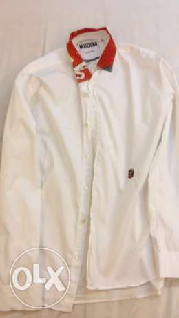 Moschino Couture White Button Up Shirt