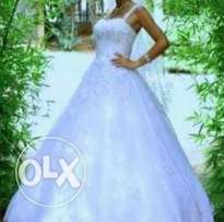 Wedding dress for sale used once