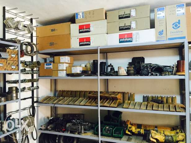 Spare parts and heavy equipment