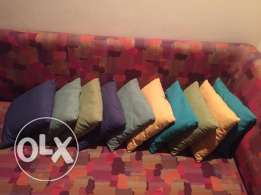 10 coussins frm Sleep Confort