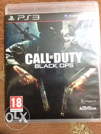call of duty black ops used once ps3 cd console