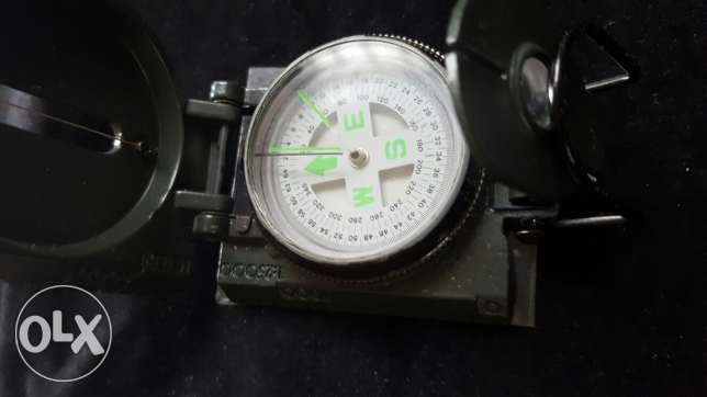 Lensatic compass new