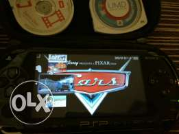 PSP with 7 games downloaded.