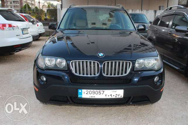 x3 full otions model2007 dark blue