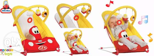Little Tikes Cozy Coupe Bouncing Chair - Red / Yellow for only 80$
