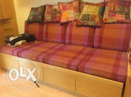 Sofa with 4 storage place