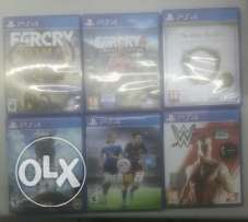 Ps4 Games all for $120
