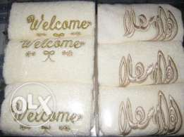 Welcome Towels 3 in one box.