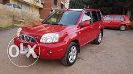2006 Nissan xtrail Red