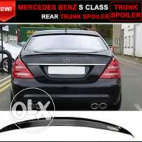 Brand new s class trunk spoiler for sale