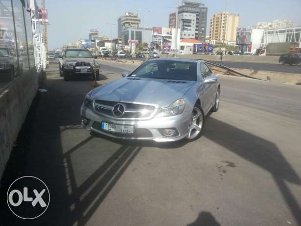 Mercedes-Benz sl special edition big engine full options and speedy ca انطلياس -  1
