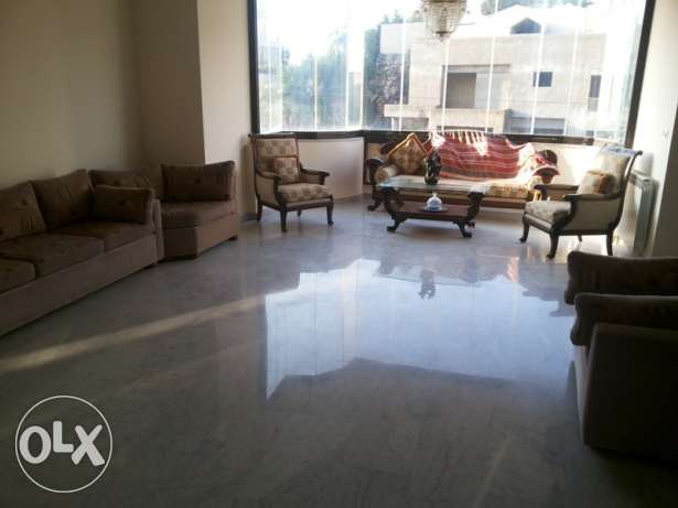 220 SQM Furnished Apartment for rent in Hboub