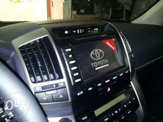 Land cruiser oem navigation