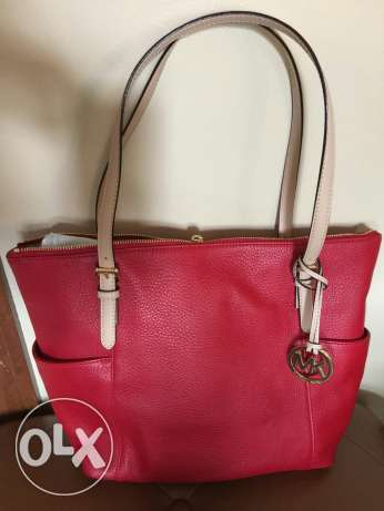 Michael kors handbag red -new