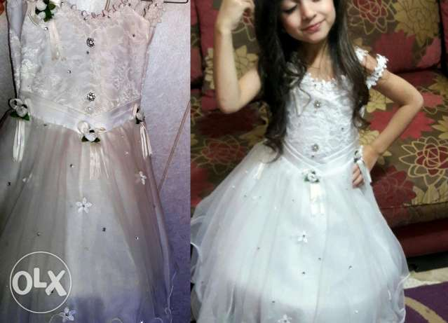 Bridal dress - 4 or 5 years old girl
