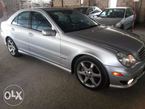 Mercedes 2007 Look amg C230 5ar2a هلالية -  5