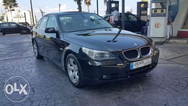 BMW serie 5 model 2006 / 523 Lebanese origin one owner no accidents راس  بيروت -  3