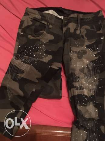 Military pants size 29 oxygene كسروان -  4