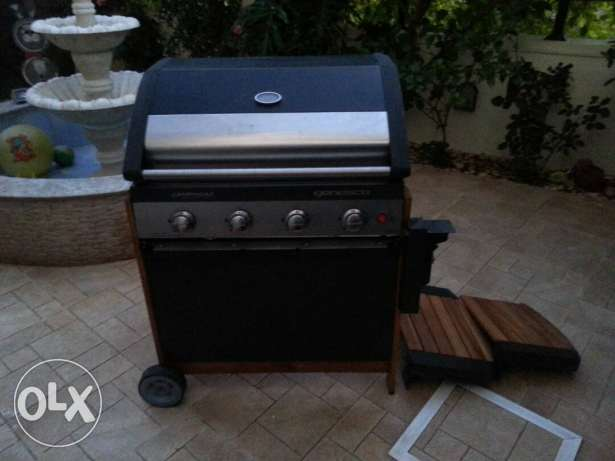 Gas grill assembly