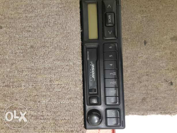 BOSS car radio in very clean condition