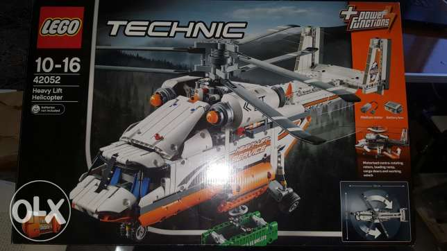 LEGO 42052 Helicopter heavy lift