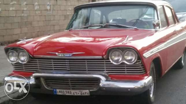 Plymouth belvedere 1957 n1 lebanon old timer