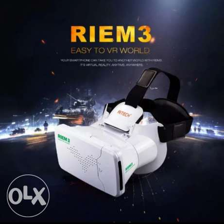 VR Virtual Reality 3D Glasses Head + Bluetooth Remote Control
