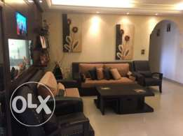 Zouk mosbeh 140m2 - perfectly decorated - sea and mountain view -
