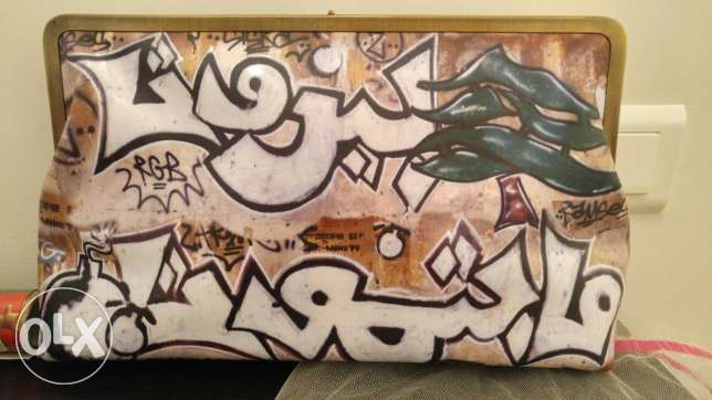 Clutch purse, Sarah's Bag Graffiti Classic