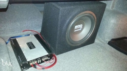 Subwoofer + amplifier 1400watt