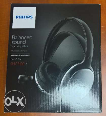 Philips wirless headset for Tv