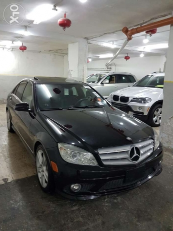 C300 black and black clean car fax look AMG new arrival خلدة -  7